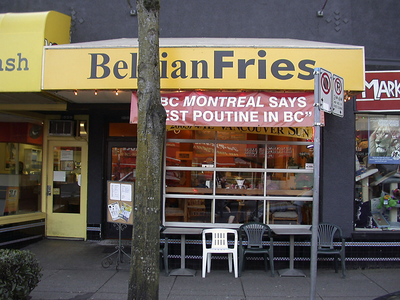 Belgian Fries – Vancouver, Canada | The One and Only Belgian Fries
